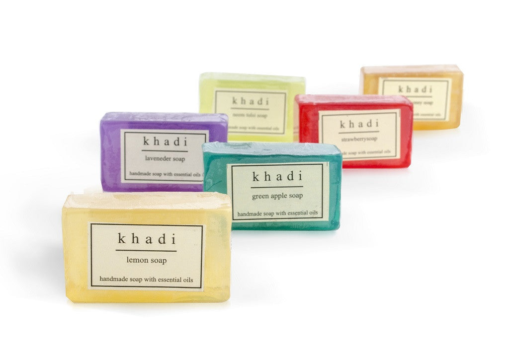 Handmade Soaps - Pack of 6 Mini Soaps (25 gm each)