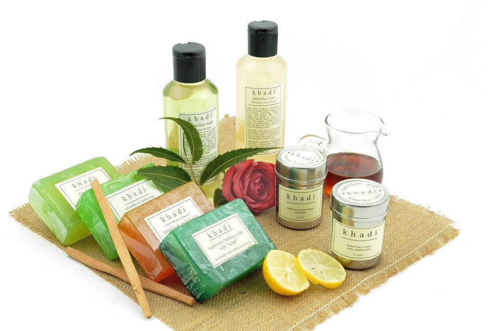 Herbal Solution Kit for Acne of Face Wash, Pack, Scrub & Soaps with ingredients