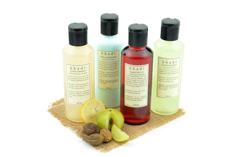 Natural Anti Dandruff Solution Kit of Hair Oil, Shampoo & Conditioner