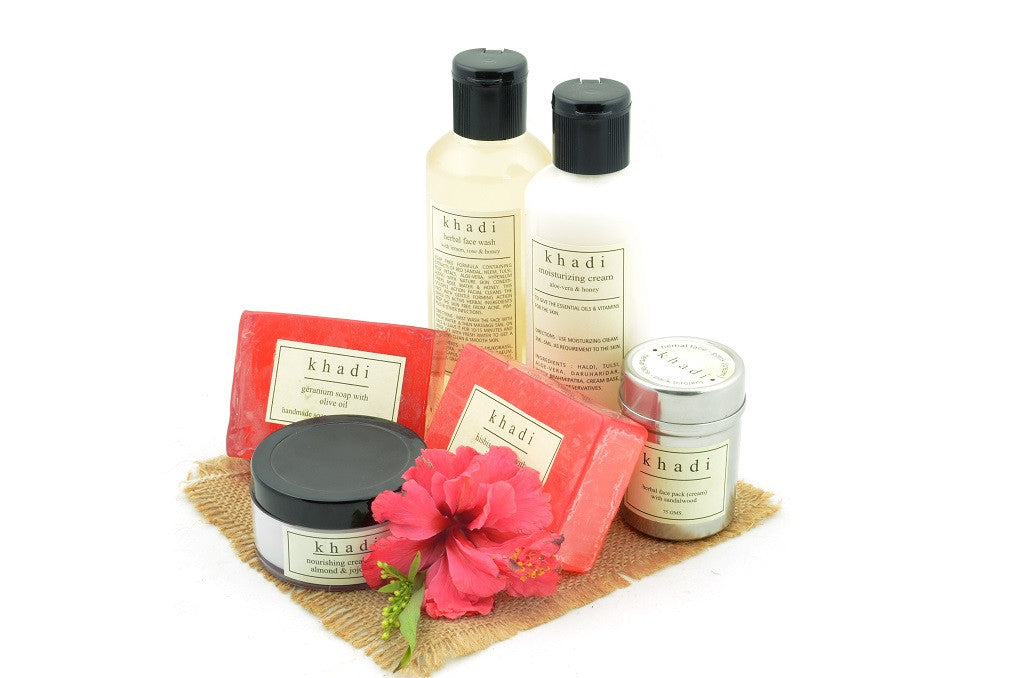 Soft & Smooth Skin Care Kit of Soaps, Creams, Face Wash & Pack with ingredients