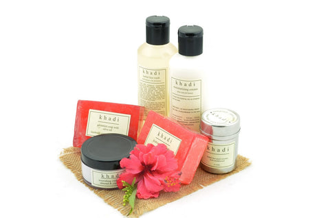 Soft & Smooth Skin Care Kit of Soaps, Creams, Face Wash & Pack