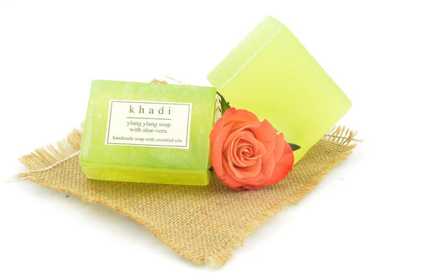 Ylang Ylang Soap with Aloe Vera - 125 gm with ingredients