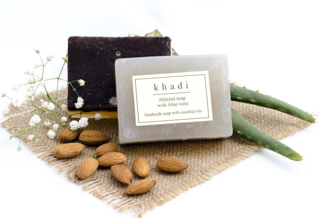 Almond Soap with Aloe Vera -125 gm with ingredients