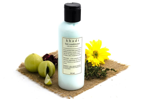 Amla & Brahmi Hair Conditioner - 210 ml with ingredients