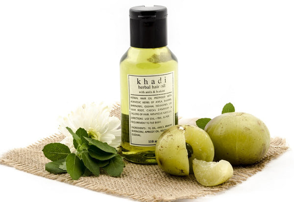 Amla & Brahmi Hair Oil 110 ml with ingredients