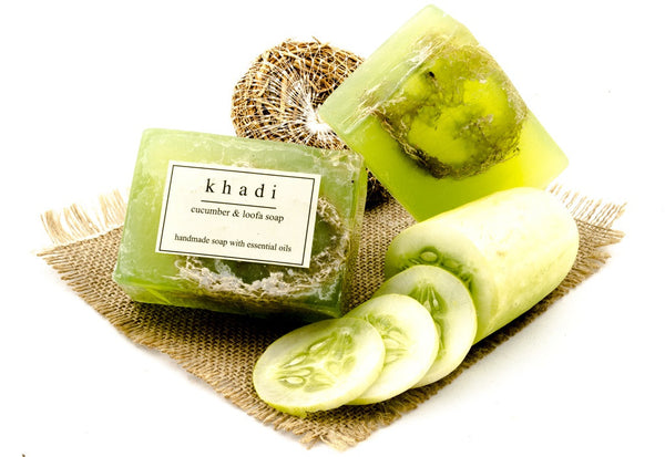Cucumber & Loofah Soap - 125 gm with ingredients
