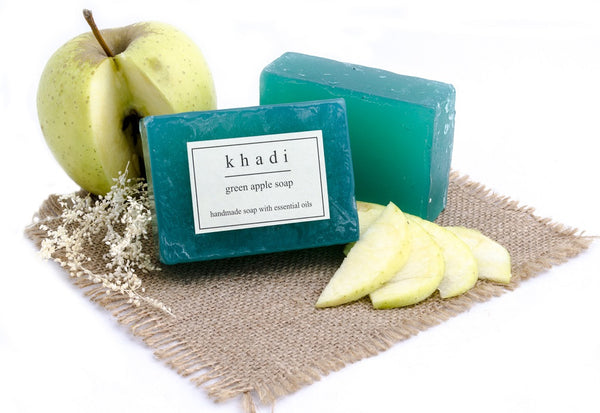 Green Apple Soap - 125 gm with ingredients