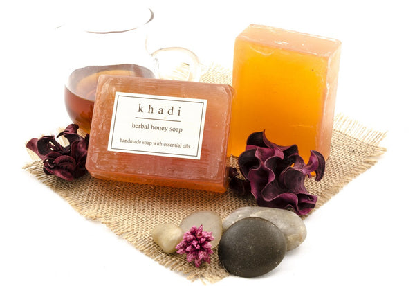 Herbal Honey Soap - 125 gm with ingredients