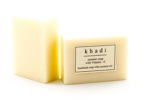 Jasmine soap with essential oils at thekhadishop.com