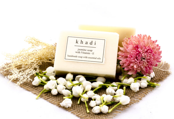 Jasmine Soap with Vitamin-E - 125 gm with ingredients