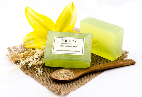 Khus Bathing Soap - 125 gm