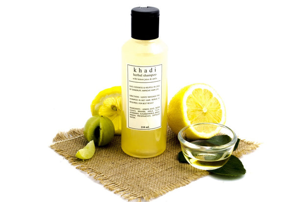 Lemon Juice & Amla Shampoo - 210 ml with ingredients