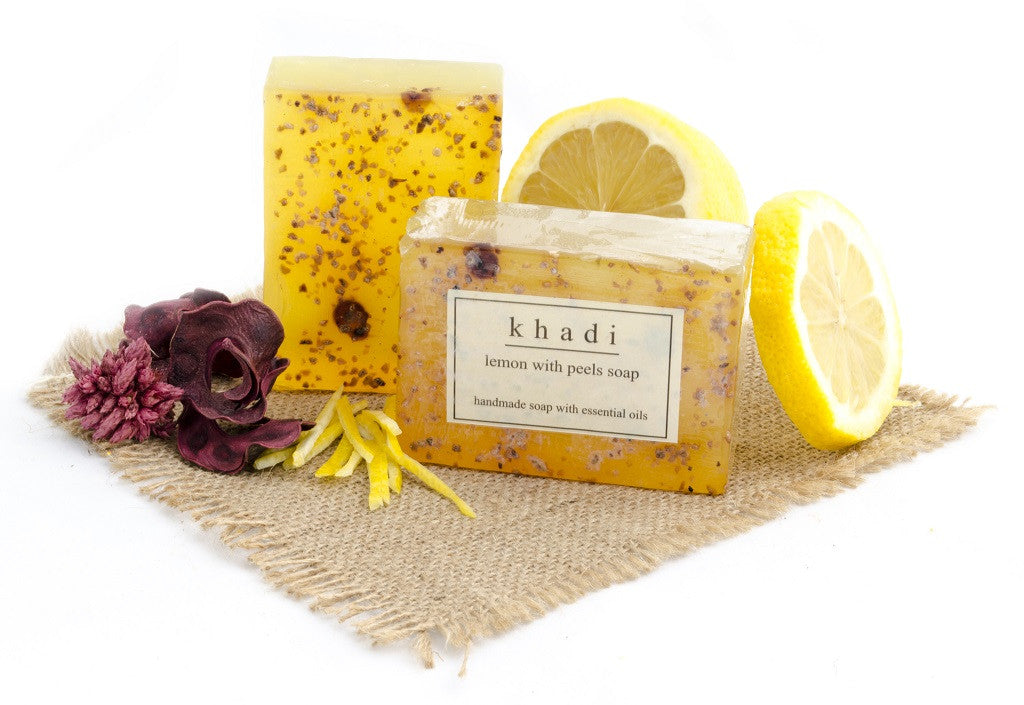Lemon with Peels Soap - 125 gm with ingredients