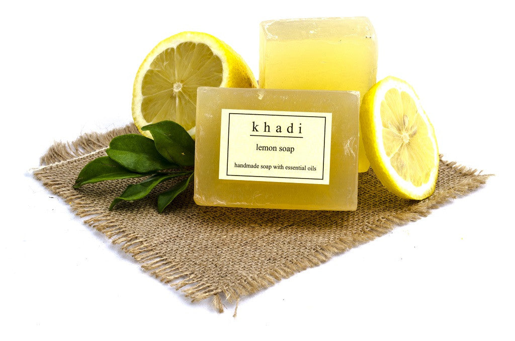 Lemon Soap - 125 gm with ingredients