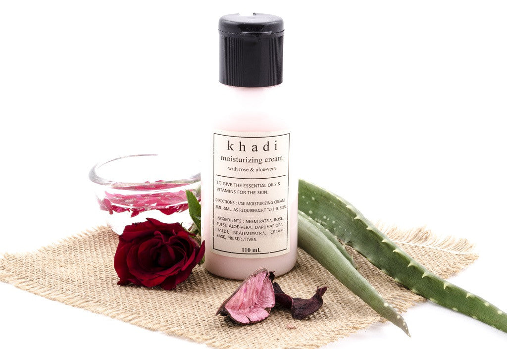 Rose with Aloe Vera Moisturising Cream 110 ml with ingredients