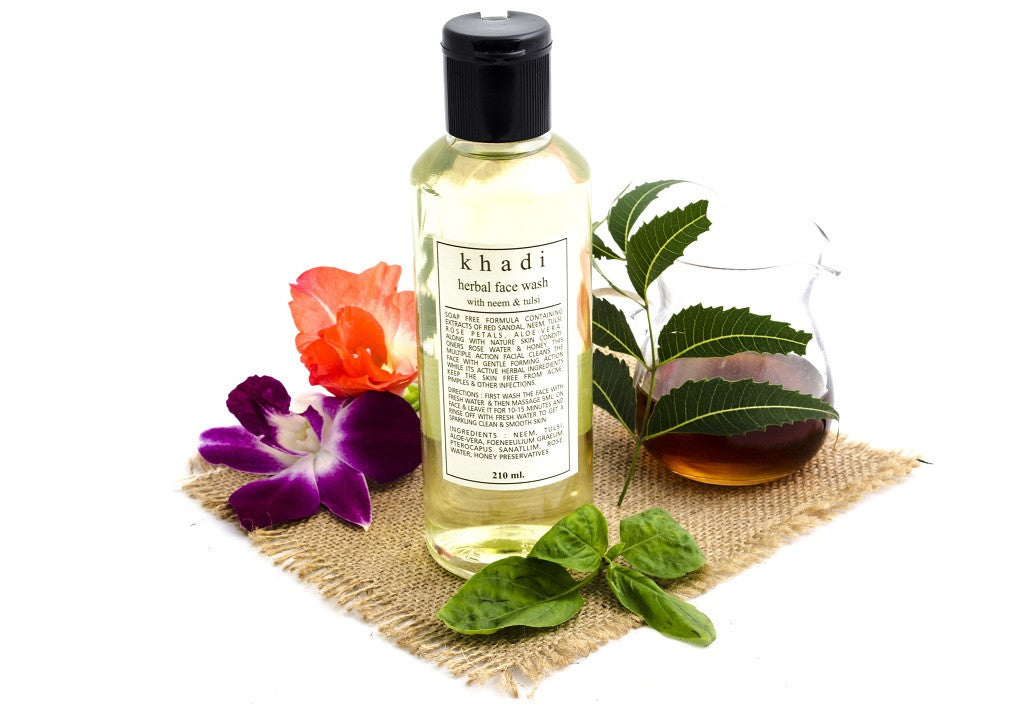 Neem & Tulsi Face Wash 210 ml with ingredients