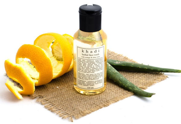 Orange & Aloe Vera Face Wash 110 ml with ingredients