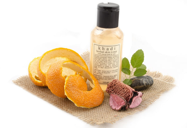 Orange Peel & Tulsi Skin Toner 110 ml with ingredients