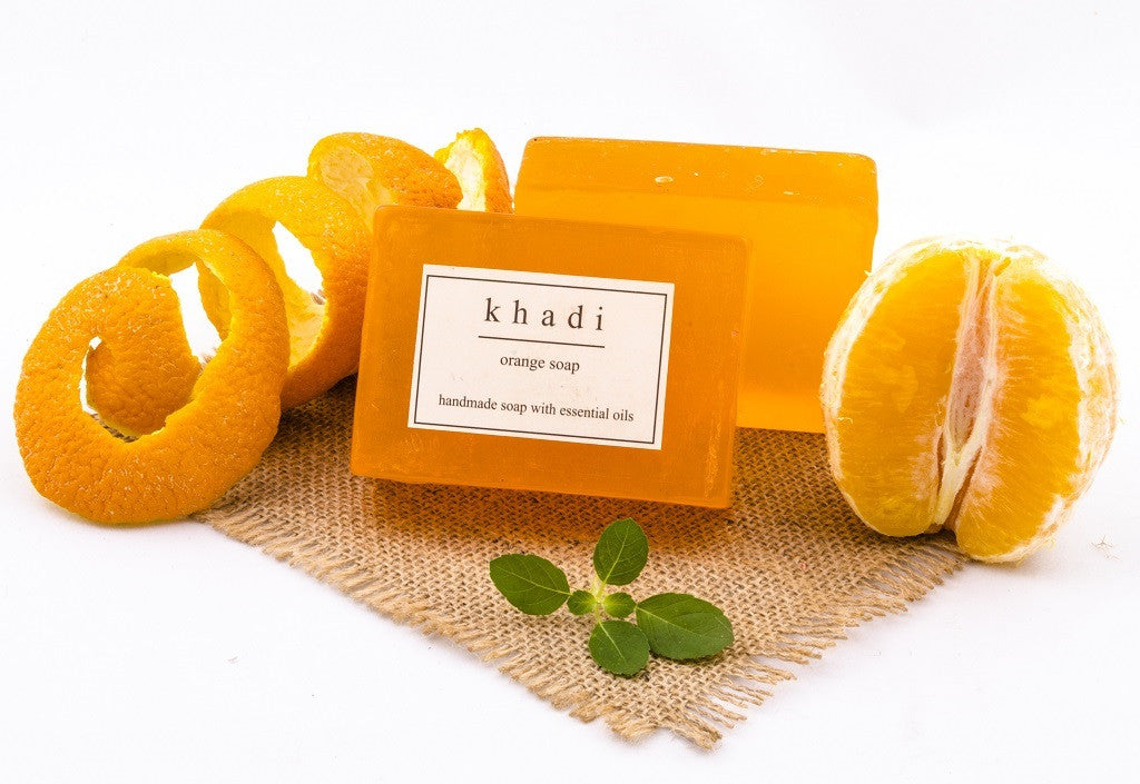 Orange Soap - 125 gm with ingredients