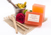 Rose with Haldi Chandan Bathing Bar - 125 gm with ingredients