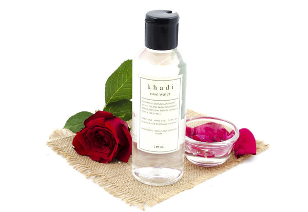 Rose Water - 210 ml with ingredients