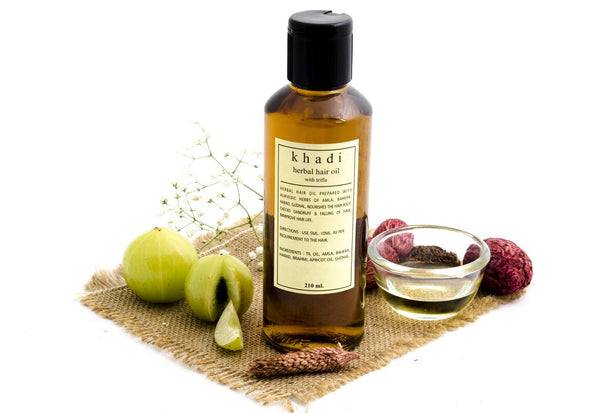Trifla Hair Oil - 210 ml with ingredients