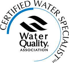 Pure Water Solutions is certified by the Water Quality Association.