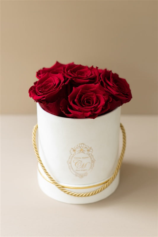 The White Gold Collection - Roses Red