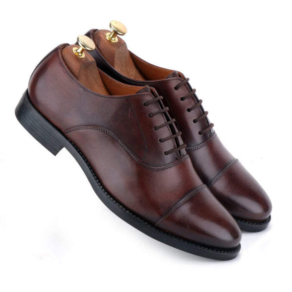 Apollo The Brown Leather Derby