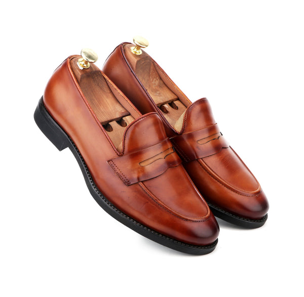 LOAKE THE TAN SLIP-ON
