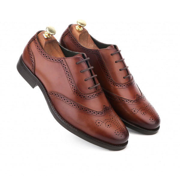 Smookie The Brown Leather Wingtip