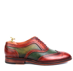 FRANKLIN WINGTIP BROUGE LACE UP