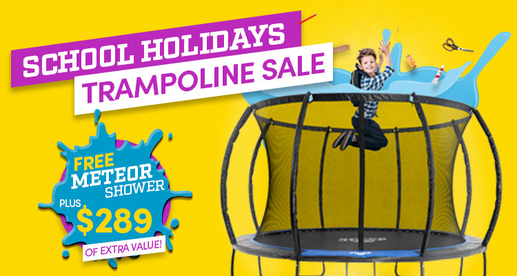 10ft Discovery | SpaceJump Trampolines promo banner tablet