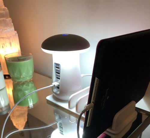Portobello Charging Station Lamp