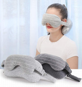 Memory Foam Pillow With Eye Mask