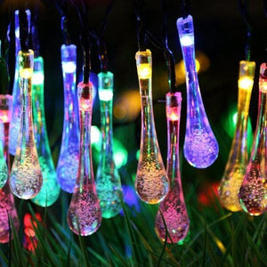 Magical Forest Solar String Lights