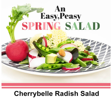 Easy Peasy Spring Salad