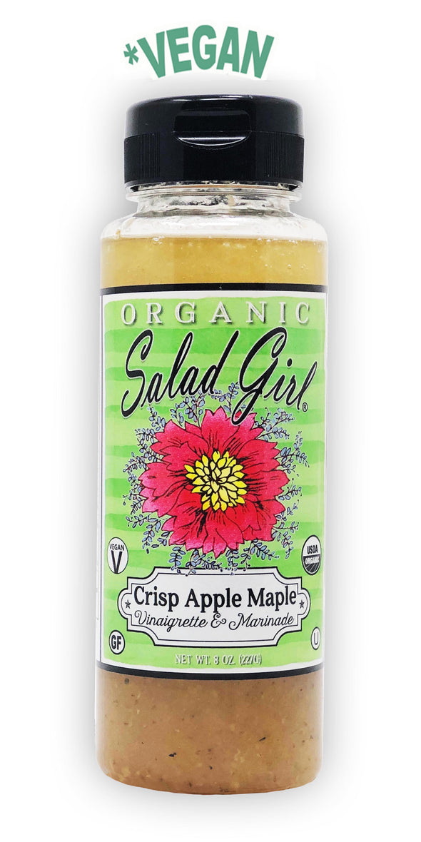 * Crisp Apple Maple Fresh Organic Vinaigrette (Vegan)