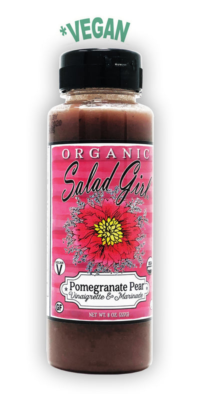 * Pomegranate Pear Fresh Organic Vinaigrette