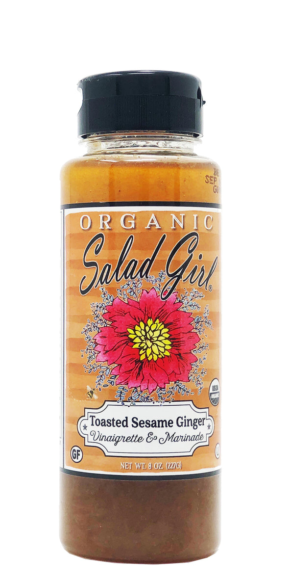 Toasted Sesame Ginger Fresh Organic Vinaigrette & Marinade