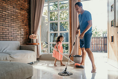how kids can help with chores to make them feel good about themselves