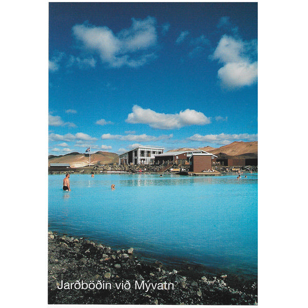 Postcard, Mývatn Earthbaths