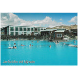 Postcard, Geothermal Baths in Mývatn