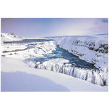 Postcard, Gullfoss, winter