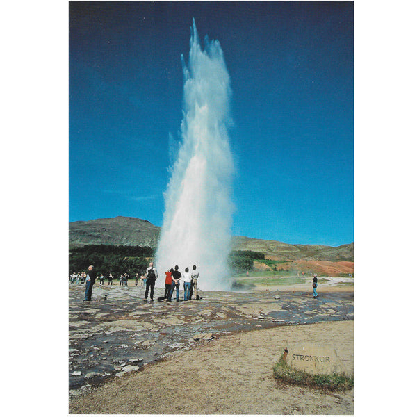 Postcard, Strokkur w-name