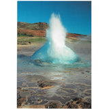 Postcard, Strokkur, close-up