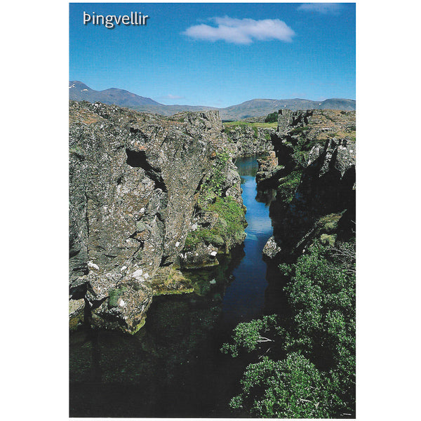 Postcard, Thingvellir