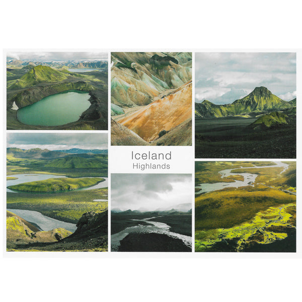 Postcard, Multi view Highlands