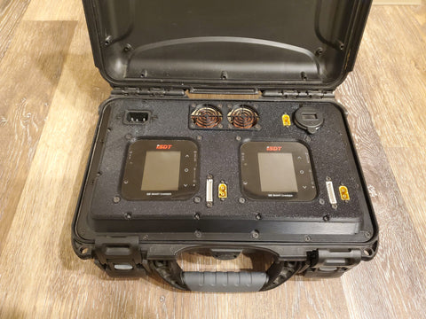 1000W Nanuk 909 High Density Charge Case - Fully Assembled