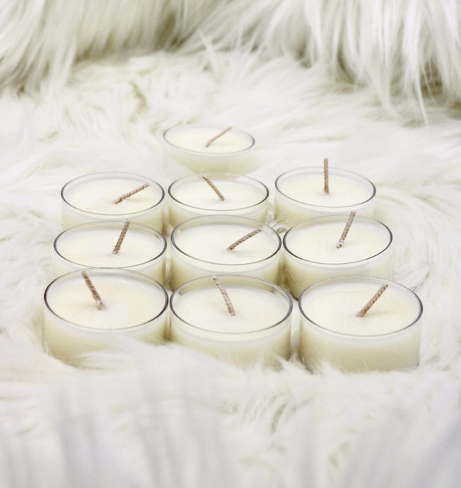 11 - Unscented Tealight Candles